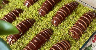 Malaga Pasta Tarifi 🍌 Borcamda Muzlu bol Çikolatalı